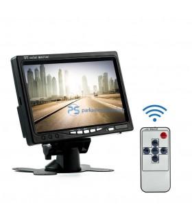 Parkavimo sistema 7 colio LCD su LED kamera
