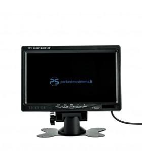 Belaidė parkavimo sistema 7 colio LCD su kamera